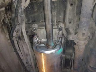 Установка основного глушителя и задней трубы Хундай Старекс Н-1, Хундай Гранд Старекс HYUNDAI STAREX H1 2.5 D