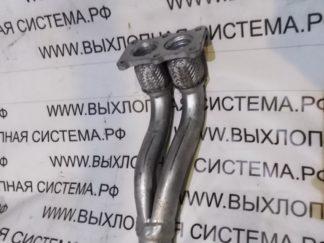 Приемная труба (штаны глушителя с гофрами) Фольксваген Гольф 4 2.0 Глушители VW GOLF IV 2.0I