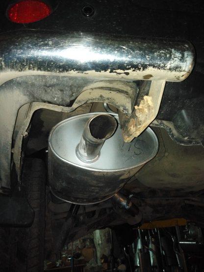 Замена глушителя на автомобиле Ниссан Х-Трейл
