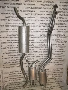 Выхлопная система БМВ 520 Е34 М20 2.0 BMW 5 E34 2.0 01/1988 - 09/1990 520i