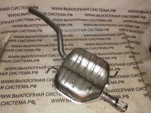 Глушитель (задняя часть выхлопной системы) Шкода Октавия 2 1.6i SKODA OCTAVIA 1.6 05/2004 - 10/2008
