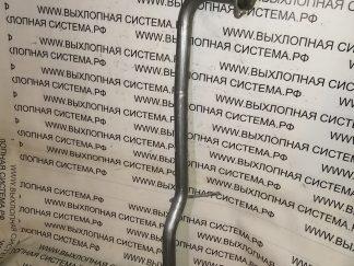 Приемная труба глушителя без пламегасителя (штаны) Дача Ларгус/Лада Ларгус 1.4-1.6 DACIA LARGUS/LADA LARGUS 1.4-1.6