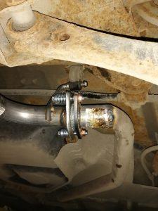 Ремонт фланца резонатора Тойота Авенсис 1.8 Toyota Avensis