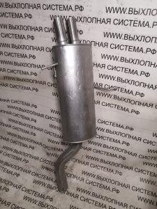 Глушитель (задняя часть выхлопной системы) БМВ E46 2.5-2.8i Глушитель BMW 3 E46 2.8