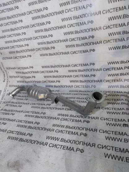 Приемная труба (штаны глушителя с пламегасителем,левая) Опель Омега В 2.5 94-00г. OPEL OMEGA B 2.5i