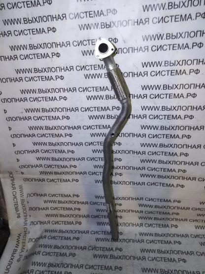 Приемная труба глушителя (передняя труба от катализатора к резонатору с гофрой) Опель Зафира 1.6-2.2 OPEL ZAFIRA 1.6-2.2