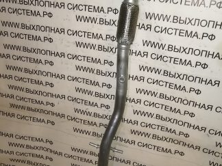 Приемная труба глушителя (передняя труба от катализатора к резонатору с гофрой) Опель Мерива B 1.4-16v 2010- OPEL MERIVA B 1.4-16v 2010-