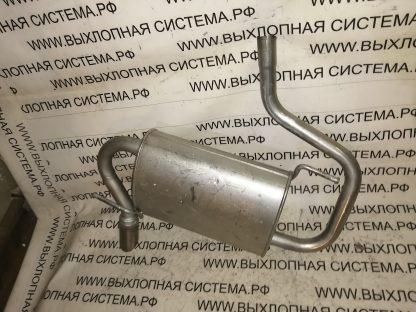 Глушитель (задняя часть выхлопной системы) Рено Дастер 1.6-2.0 4x4 RENAULT DUSTER 1.6-2.0 4WD